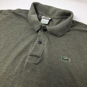 Lacoste 8 Short Sleeve Green Polo